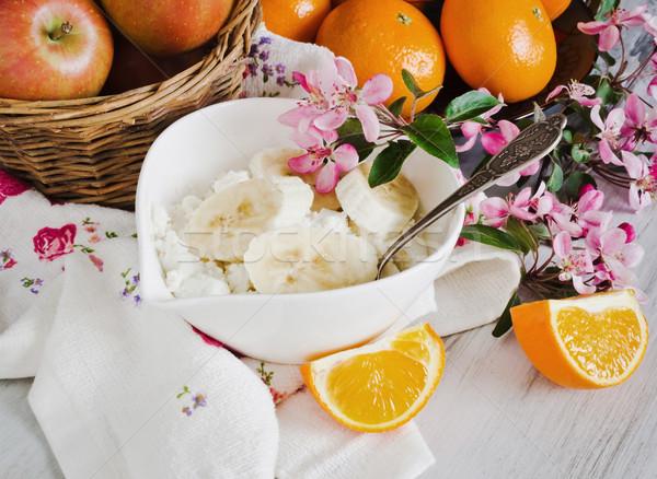 healthy diet breakfast Stock photo © saharosa
