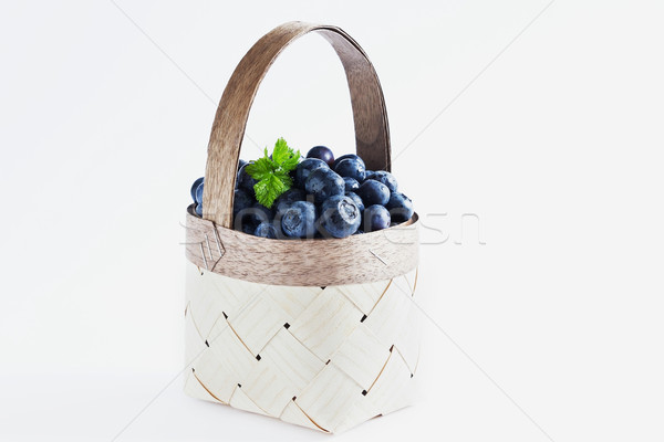 fresh blueberries Stock photo © saharosa
