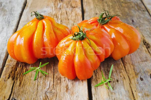 зрелый помидоров диета продовольствие Сток-фото © saharosa