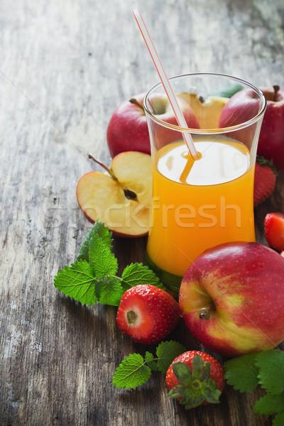 fruit juice Stock photo © saharosa
