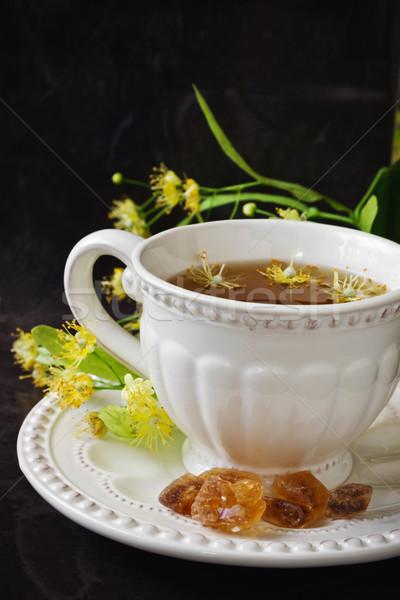 linden tea  Stock photo © saharosa