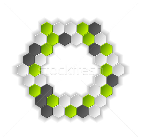 Abstract hi-tech vector background Stock photo © saicle