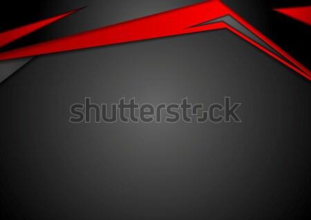 графических технической иллюстрация корпоративного дизайна вектора Сток-фото © saicle