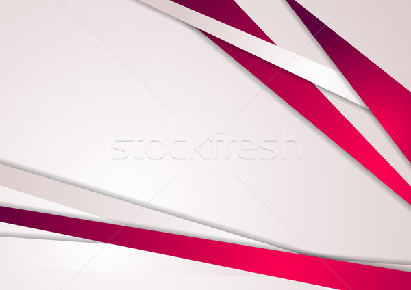 Abstract pink stripes corporate art background Stock photo © saicle