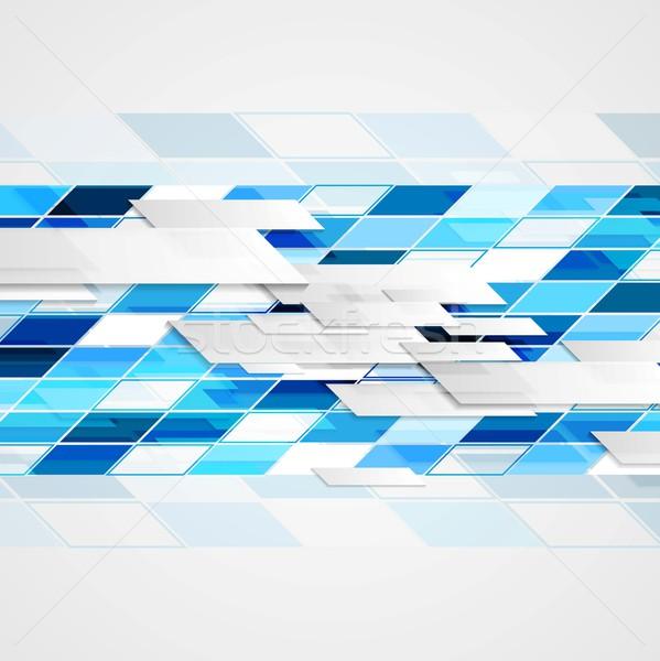 Absztrakt mértani fényes vektor terv textúra Stock fotó © saicle