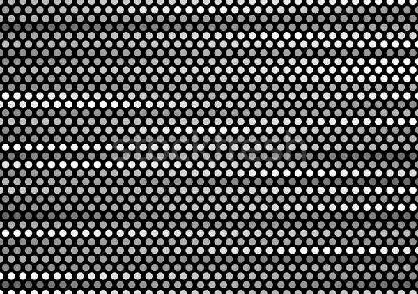 Ciemnoszary tech minimalny circles wektora szablon Zdjęcia stock © saicle