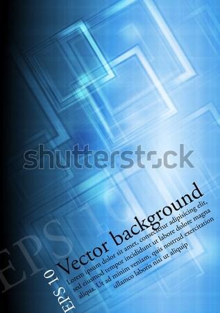 Sötét kék vektor grafikai tervezés textúra absztrakt Stock fotó © saicle