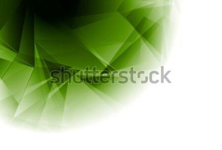 Résumé géométrie design vecteur tech lumière Photo stock © saicle