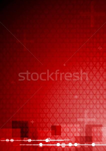 Bright tech background Stock photo © saicle