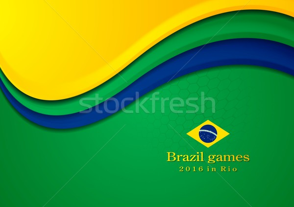 Stock fotó: Vektor · színek · sport · játékok · absztrakt · terv