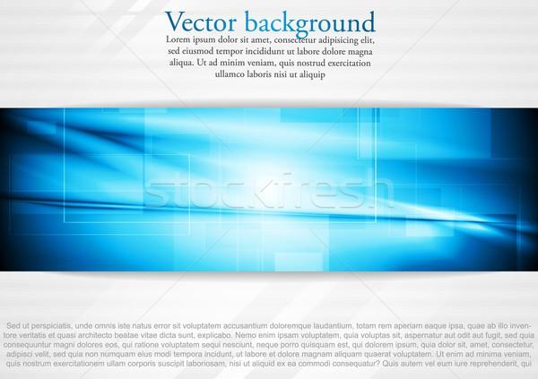 Elegant tech business design Stock photo © saicle