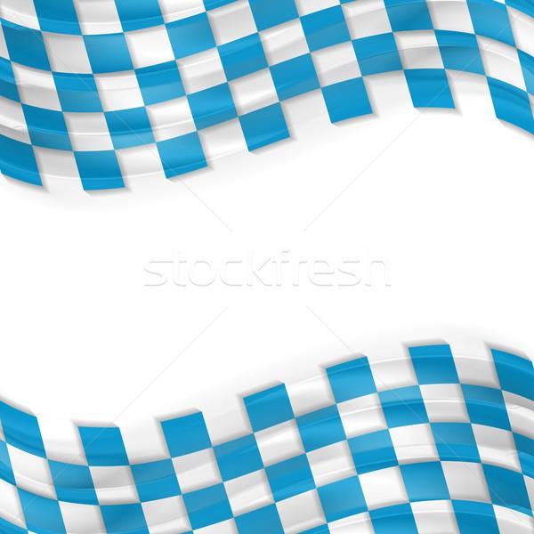 Oktoberfest abstract wavy bright background Stock photo © saicle