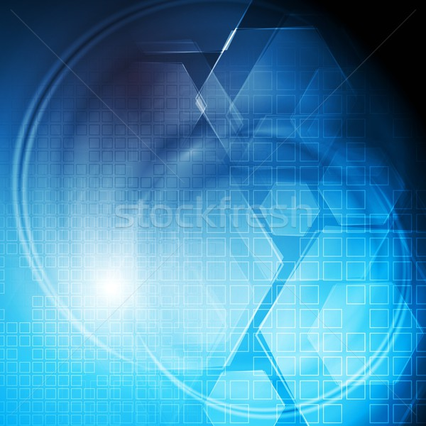 Stock photo: Hi-tech colourful background