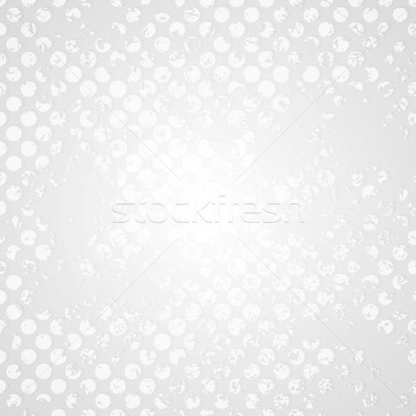 レトロな グランジ ハーフトーン グレー ベクトル デザイン ストックフォト © saicle