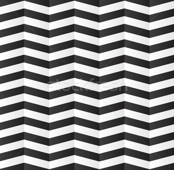 Abstract geometric stripes pattern design Stock photo © saicle