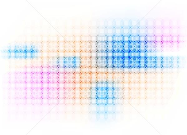 Colorido círculos vetor projeto eps10 fundo Foto stock © saicle