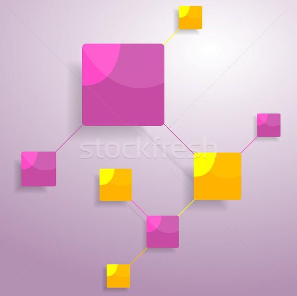 Graficzne minimalny projektu jasne wektora Zdjęcia stock © saicle