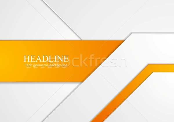 Abstract tech corporate background vector illustration