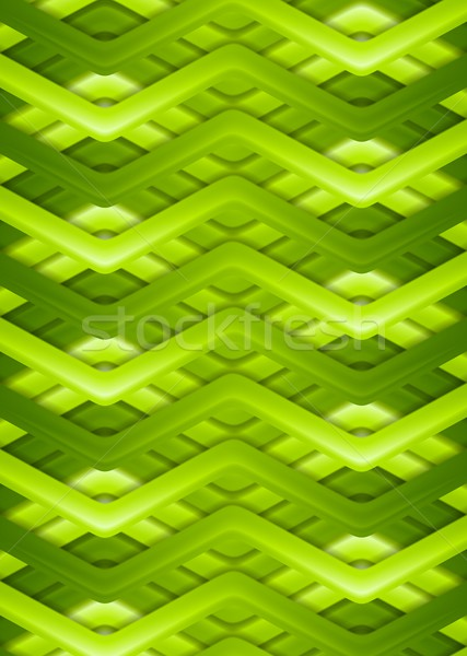 Bright green smooth stripes background Stock photo © saicle