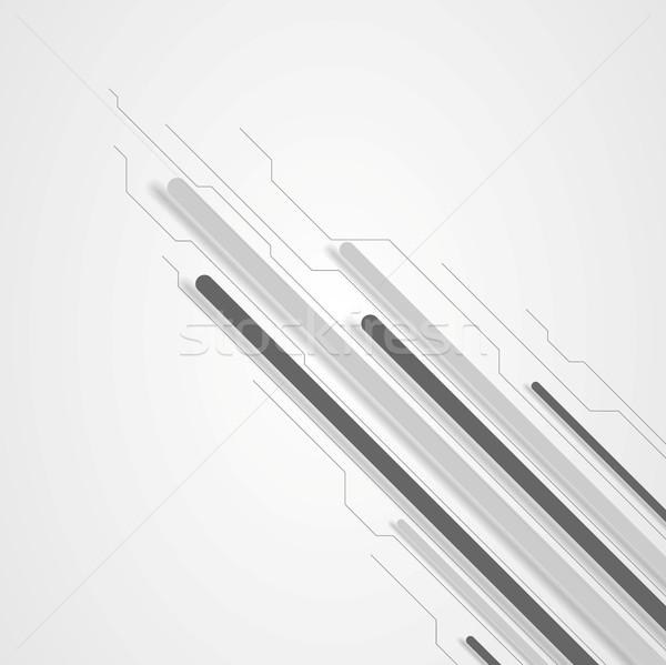 商业照片: 灰色 · 高科技 · 对角线 · 电路板 · 设计