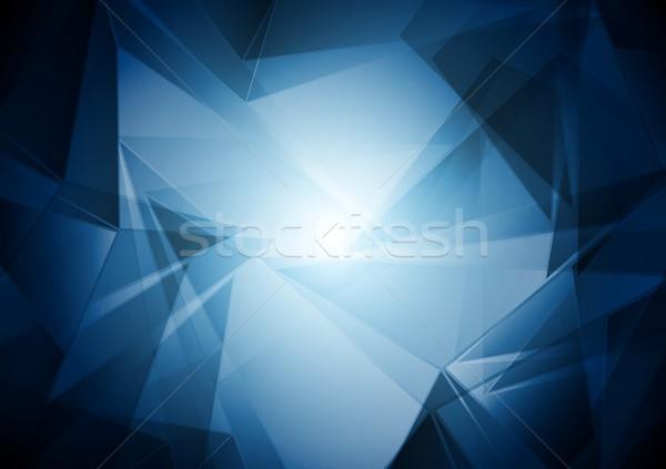 вектора Tech абстракция элегантный искусства аннотация Сток-фото © saicle