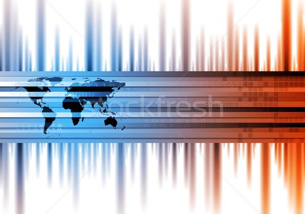 Hi-tech vector background Stock photo © saicle
