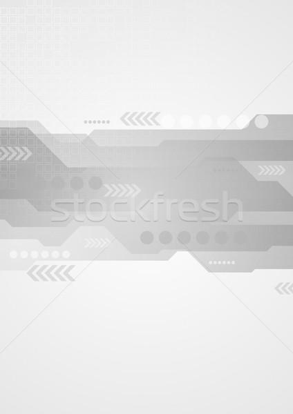 Vektor nyilak absztrakt textúra fény keret Stock fotó © saicle