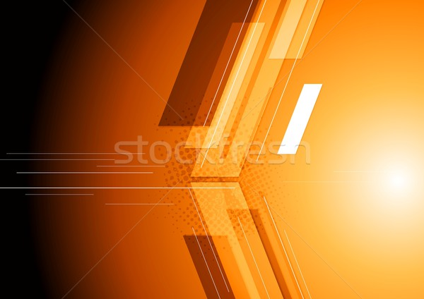 Technical dark corporate background Stock photo © saicle