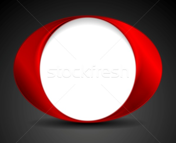 Abstract bright circle O shape logo design Stock photo © saicle