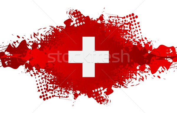 The Swiss National Day, Schweizer Bundesfeier Stock photo © saicle