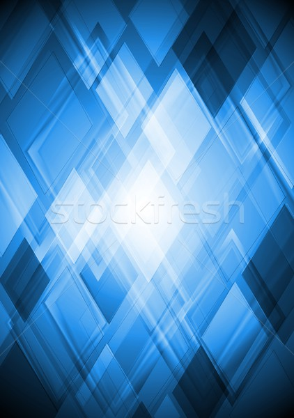 Luminoso blu vettore design abstract eps Foto d'archivio © saicle