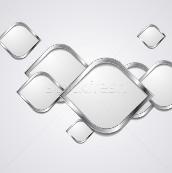 аннотация металлический вектора дизайна фон искусства Сток-фото © saicle