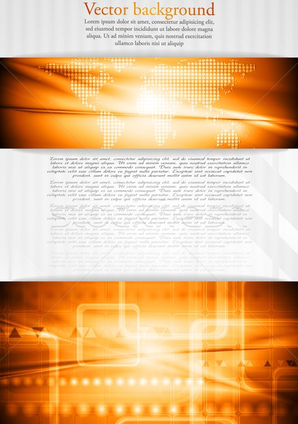 Colourful tech business design Stock photo © saicle