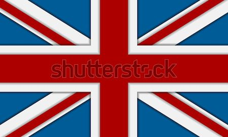 United Kingdom of Great Britain flag Stock photo © saicle