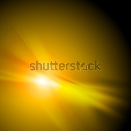 Smooth blurred orange abstract background Stock photo © saicle