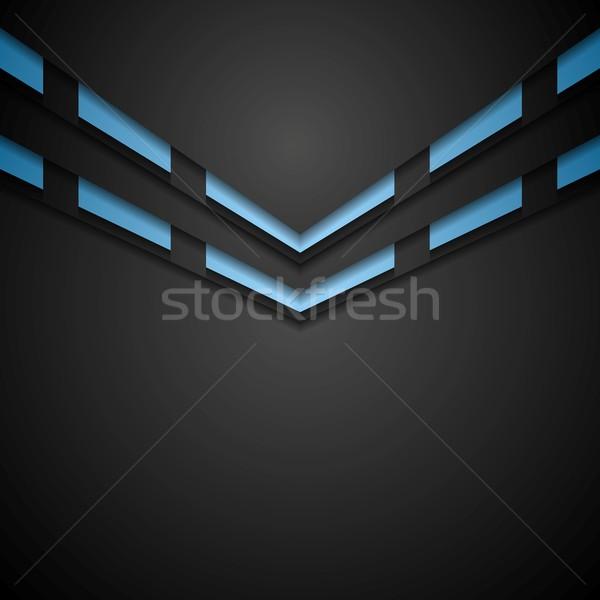 Vibrante empresarial resumen vector diseno textura Foto stock © saicle