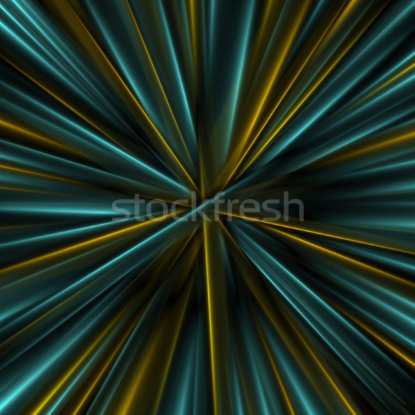 Colorful glowing abstract smooth beams background Stock photo © saicle