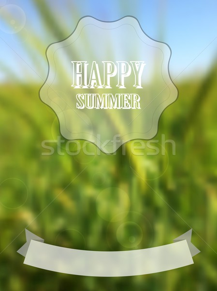 Blurred retro summer background Stock photo © saicle