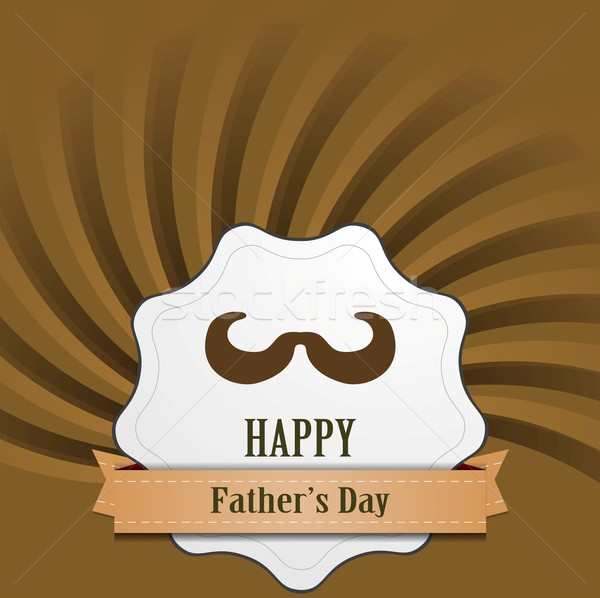 Father's Day abstract retro vintage background Stock photo © saicle