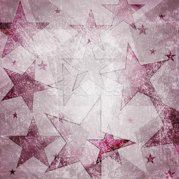 レトロな 星 デザイン グランジ eps 10 ストックフォト © saicle