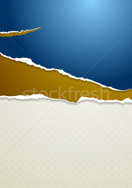 Stock photo: Abstract vector paper background