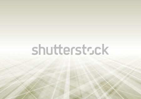 Streszczenie tech perspektywy wektora broszura tle Zdjęcia stock © saicle