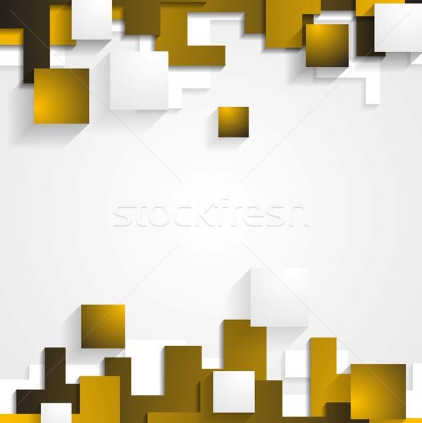 Foto stock: Abstrato · tecnologia · vetor · elegante · textura · projeto