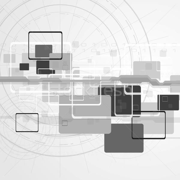 Hi-tech vector design Stock photo © saicle