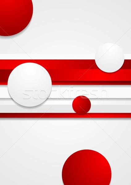 Foto stock: Vetor · abstrato · tecnologia · brilhante · projeto · tecnologia