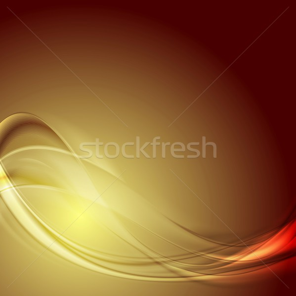 Abstract smooth blurred waves bright background Stock photo © saicle