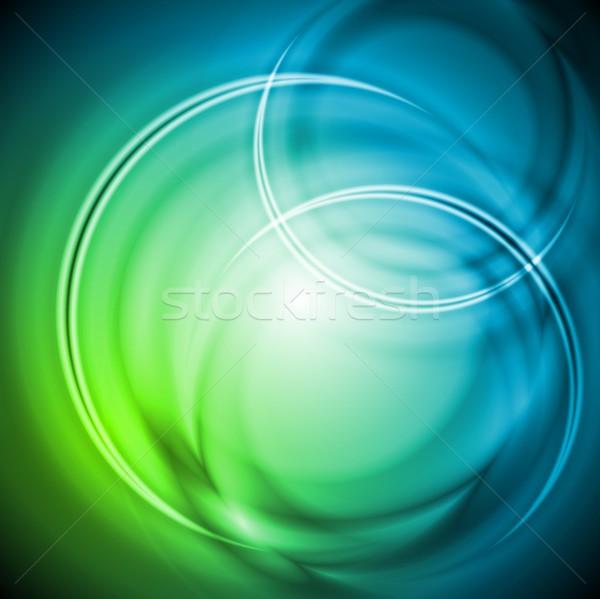 вектора дизайна аннотация иллюстрация прибыль на акцию Сток-фото © saicle