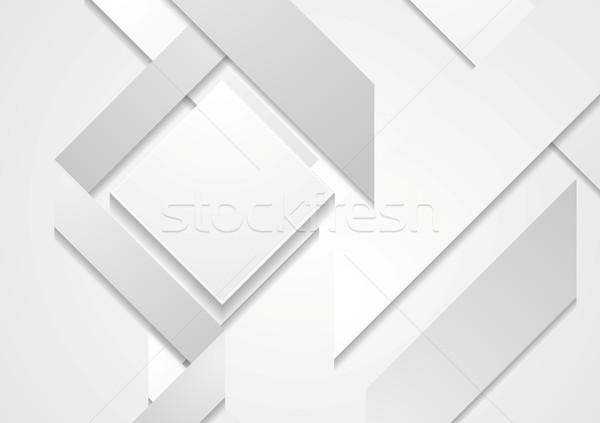Absztrakt mértani formák vektor terv textúra Stock fotó © saicle