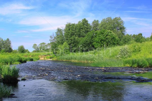 River landscape Stock photo © saicle