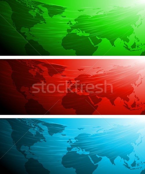 Abstract technical banners Stock photo © saicle